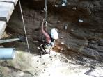 Rock climbing   Ricon De la Vieja