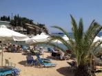 Batis beach 10 minute walk up the coast