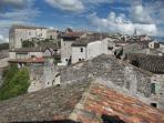 Balazuc, village classé. Sud de la France