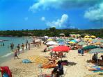 There are so many beaches; this one is Lazzaretto, about 15-minutes drive north