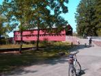 If you love biking, the Sachs Covered bridge is only 5 miles away and a great ride.