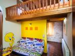 Room specially decorated  for children!