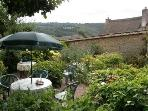 Walled Garden Dunsford where on a nice day you can sit in the beautiful gardens