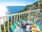 private balcony vwith sea view