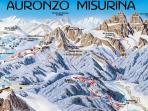 numerose piste di sci e fondo