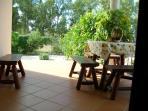 veranda dell'appartamentino