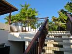 Stairs To Private Rooftop Pool Terrace