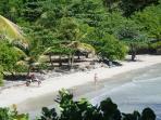 Beach at Crochu , St David