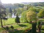Montagenet - Le parc et l'étang