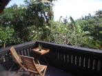 lavender room's balcony