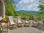 House Ambasciatore: Overlooking the Orcia valley!