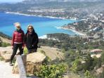 Fun ride to the neighbouring village of Cassis