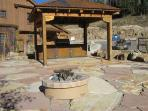 Blackbear BBQ and fire pit area