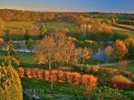 Domaine de Montagenet - Le parc à l'automne