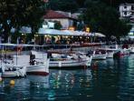 Vasiliki town 12 km from the villa, plenty of restaurants by the water, shops, nightlife