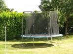 Trampoline - HOURS of fun for kids and peace for adults!
