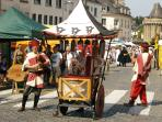 Hennebont Medieval Festival in July. A marvellous weekend for all the family.