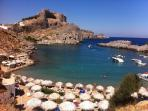 A Trip to Lindos South of The Island of Rhodes