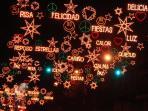 Christmas Illumination in Paseo de Recoletos