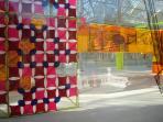 Art Installation in Crystal Palace in Retiro Park