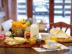 Casa do Palheiro Grande - pequeno almoço