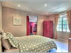Queen bedroom - part of junior suite!