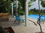Sea view house for rent near beach, Bol, Brac island