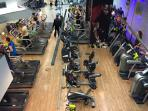 Well-equipped GYM in the building