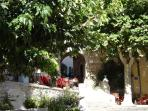 la cadière d'Azur passage de la Colle
