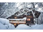 1970's classic Japanese chalet architecture, with a Scandinavian feel