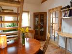 Bertra Cottage - open plan dining area