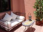 private terrace