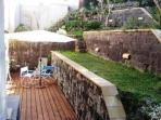 giardino con dogato e prato