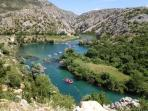 Activity and adventure by Riva Rafting Centar - rafting tour on river Zrmanja