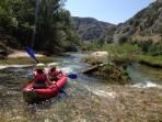 Activity and adventure by Riva Rafting Centar - kayak/canoe tour on river Zrmanja