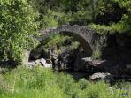 Pont de Capelan, route de Millau