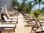 Lounge chairs and cold drinks await!