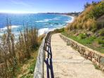 Far east corner of Fuengirola Beach with lots of privacy..... You have a 10 km beach walk