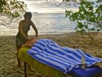 Enjoy a Massage on the Beach Listening to the Sound of the Waves...