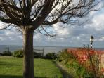 la mer à Villerville ( proche Honfleur)