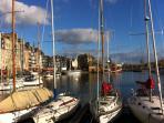 le port de Honfleur ( le vieux bassin)