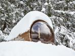 Outdoor Scenic Sauna - Marmotte Mountain Retreat