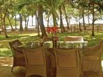Dine Al Fresco with the Pacific Ocean as your backdrop