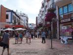 Caparica town centre