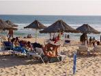 Local beach Costa da Caparica