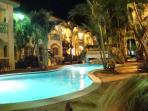 Aruba called... your pool is waiting this evening!  Enjoy it day or night.