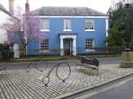 The Square in the centre of Moretonhampstead, 50m from the flat