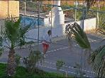 Tennis court exclusive for our guests.