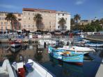 Le port de plaisance d'Ajaccio