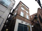 Our smart apartment building is located in one of York's famous 'snickleways' - Peter Lane
